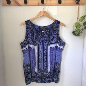 4/$20 Sleeveless purple blouse